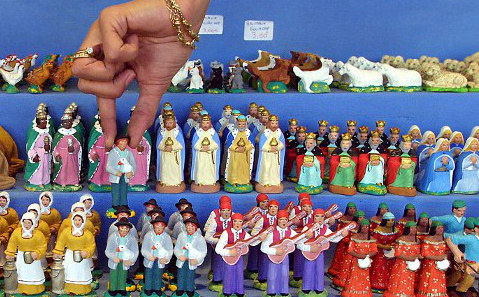The story behind France's Christmas tradition of little saints
