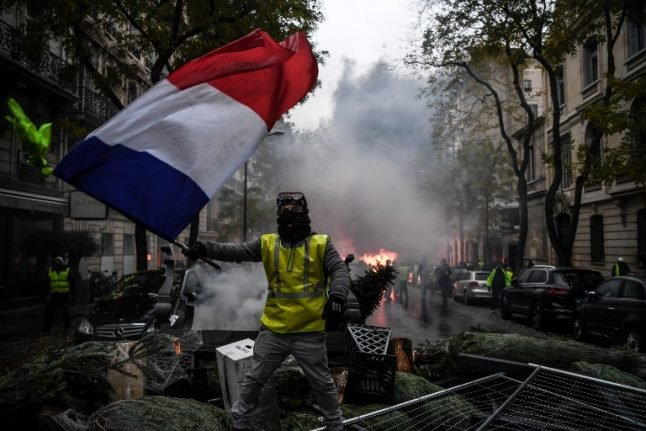 Paris and other French cities braced again as 'yellow vests' set for more Saturday protests