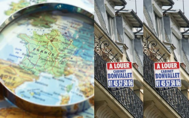 What can you rent for a budget of €600 a month in cities across France?