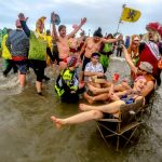 In Pictures: French revellers take chilly seaside dip to celebrate the New Year