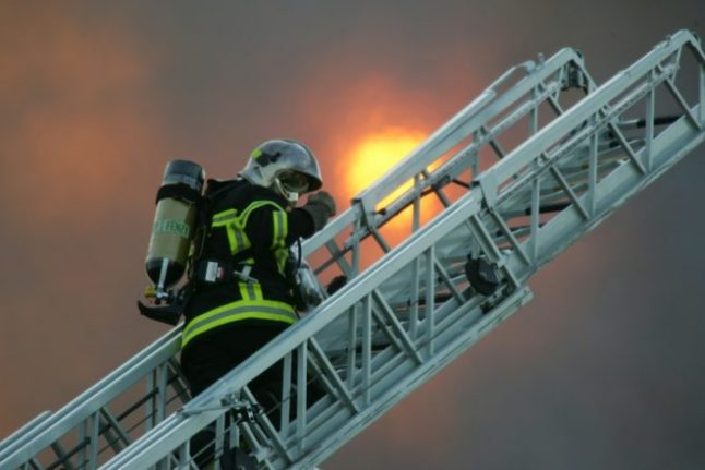 Huge apartment blaze in Toulouse leaves 22 injured