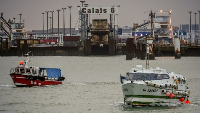 French fishing boats targeted as migrants make their break for Britain