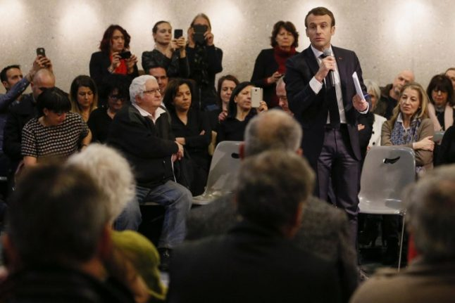 Macron's ratings edge up as he dives into debates