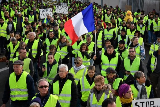 Act X: What to expect from the 'Gilets Jaunes' in France this Saturday
