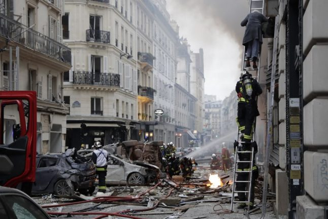In IMAGES: Paris street left devastated by deadly explosion at bakery
