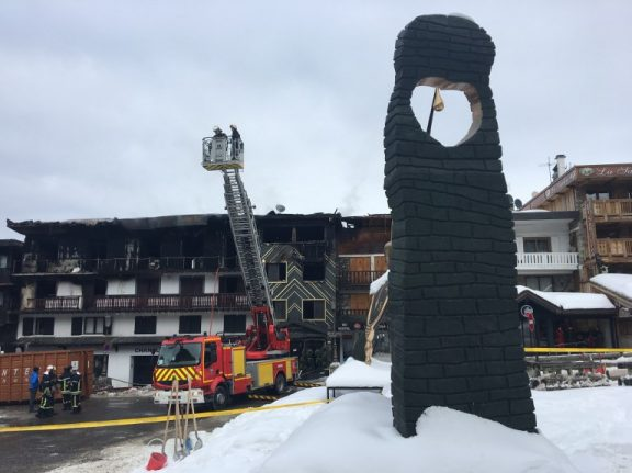 Deadly fire at French ski resort Courchevel 'may have been arson'