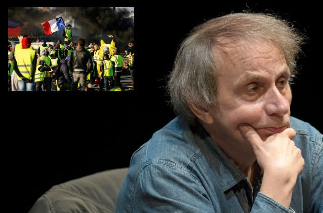 France's literary bad boy Houellebecq returns with new 'yellow vest' novel