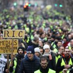 France's 'yellow vests' hit streets for fresh round of protests amid fears of more violence