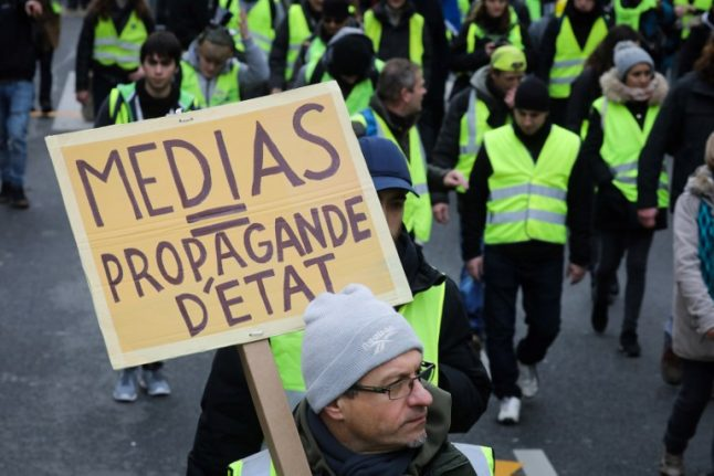 'They tell nothing but lies': France's 'yellow vests' reveal their hatred of the media