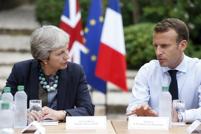 Macron to May: The Brexit deal is 'not renegotiable'
