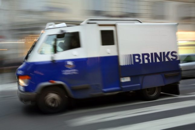 Cash delivery van driver disappears in France with €1 million