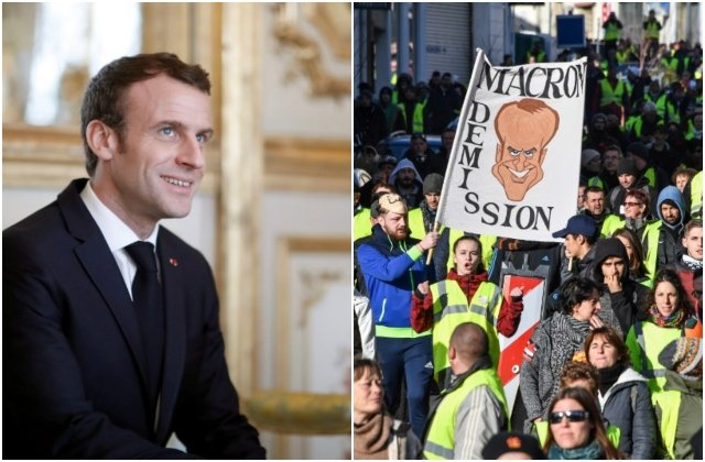 Why is President Macron's popularity suddenly on the up?