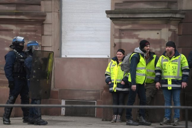 France's 'yellow vests' rail at police violence