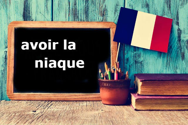 French Expression of the Day: avoir la niaque