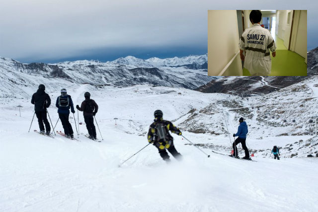 Health chiefs raise alarm over measles outbreak at French Alps ski resort