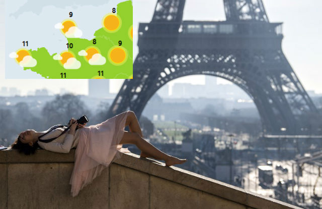 Weather forecast: France set for sunny weekend as spring-like temperatures continue