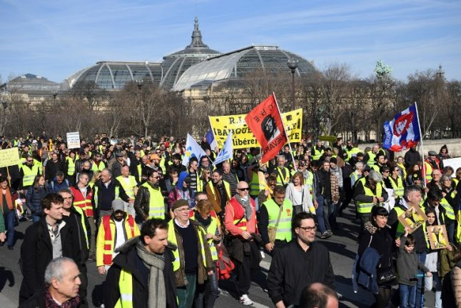 'Intolerable': French yellow vests condemned again over anti-Semitism and police attacks