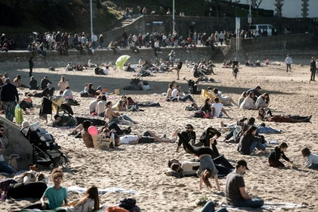 Mercury to hit 22C in France with warm spell set to continue