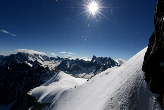 Two climbers killed by falling rocks in French Alps