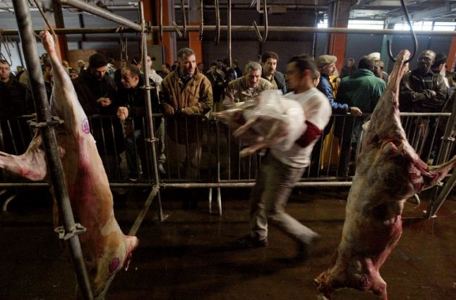 Halal meat sold in France can't be called organic, EU rules