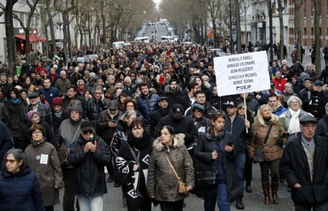 'National wake-up call': French to march against anti-Semitism