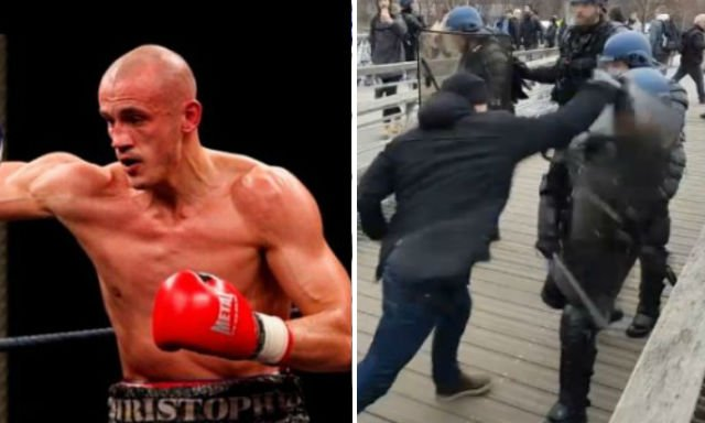 France's 'yellow vest' boxer given one-year jail term for beating up riot police