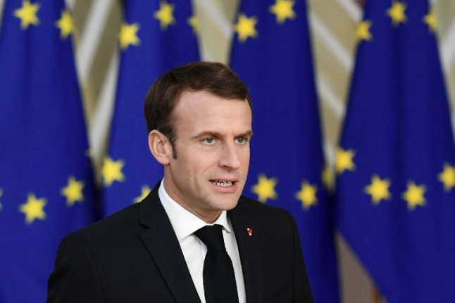 Macron says 'time has come' for British to make choices over Brexit