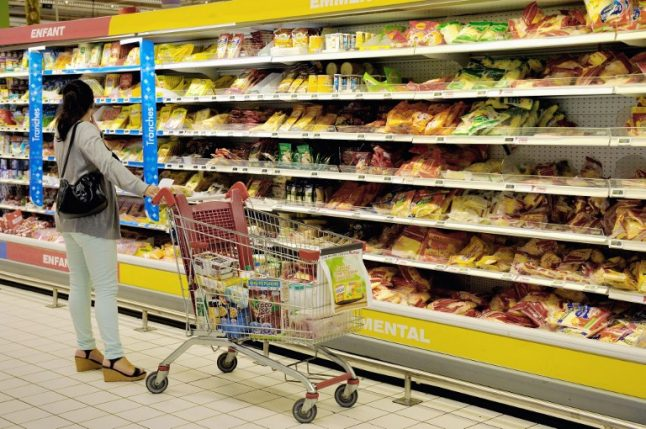 Prices of hundreds of food products shoot up in French supermarkets