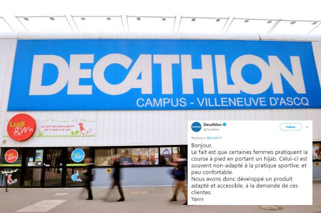 Yann from Decathlon becomes web hero in France for standing up to hijab hate