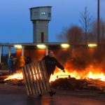 Prisons blocked across France after guards attacked by 'radicalised' inmate