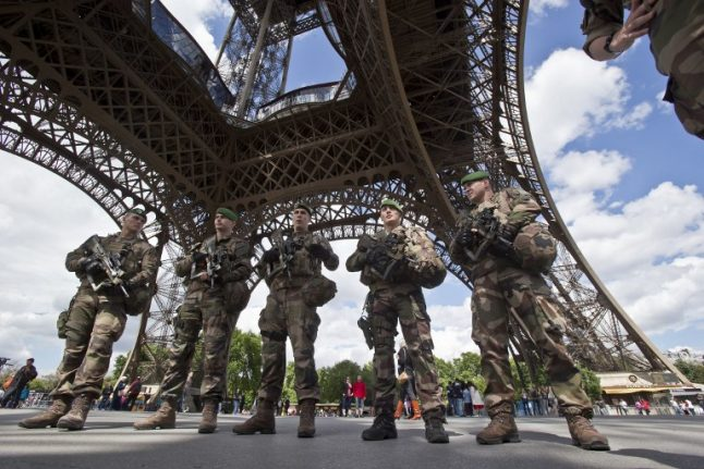 French soldiers to patrol streets during next 'yellow vest' protest