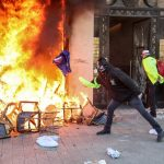 VIDEOS: Champs-Elysees' designer stores and restaurants looted and burned