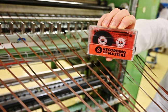 French firm opens factory making first cassettes since 1990s after artists like Taylor Swift go retro