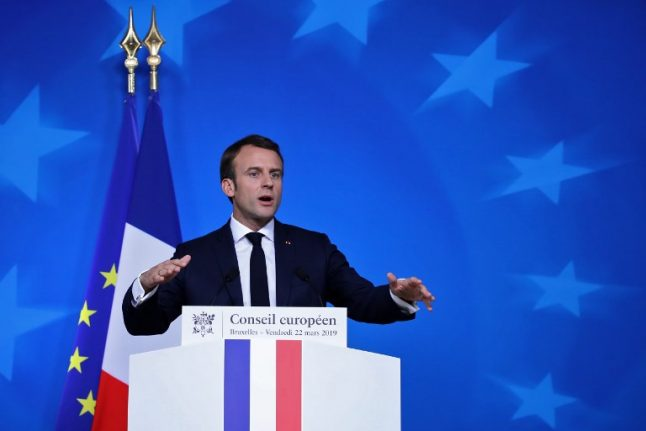 Brexit is a lesson to us all: Macron