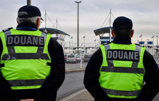 Traffic jams hit Channel ports as French customs officials strike over Brexit