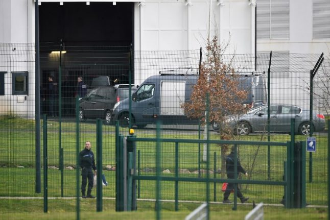 'Radicalised' inmate slashes guards in French prison attack