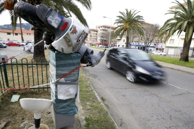 Rise in road deaths in France blamed on destruction of three-quarters of speed cameras