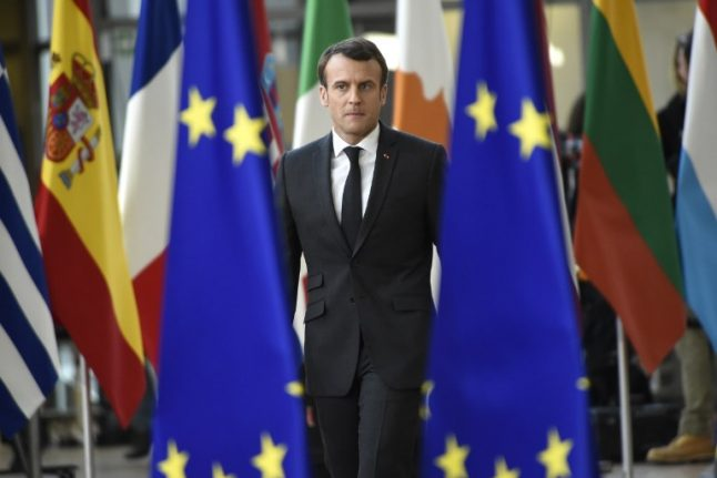 French president Macron warns of no-deal Brexit 'for sure' if British MPs reject May's deal