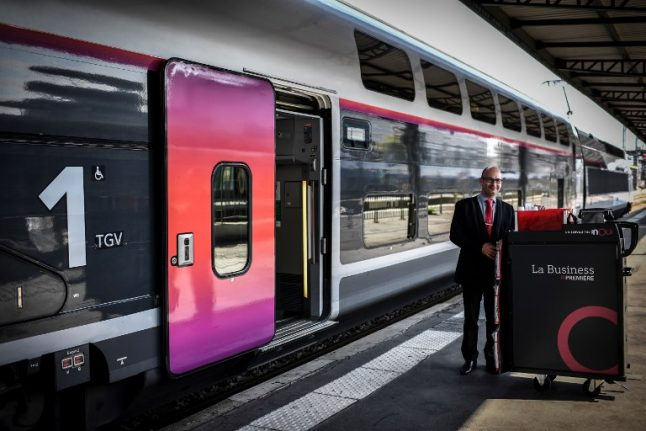 Passengers in France can now buy train tickets via Facebook