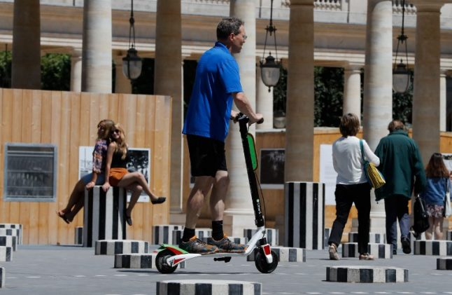 How to avoid falling foul of Paris' new rules on electric scooters