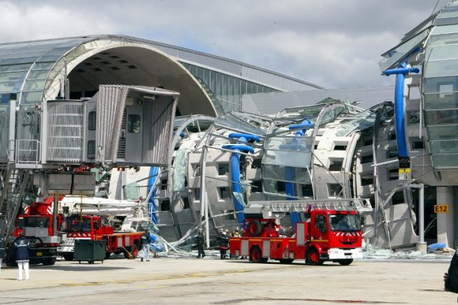 Paris airport operator fined over deadly Charles de Gaulle terminal collapse