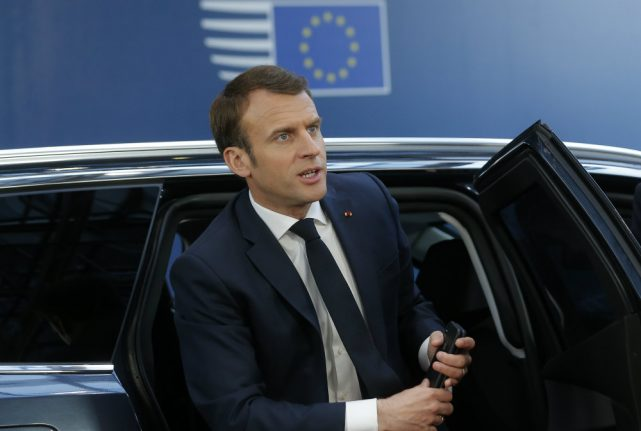 Macron says Isis defeat removes 'significant threat' to France