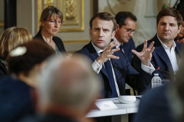 Only in France: French president spends eight hours debating with intellectuals