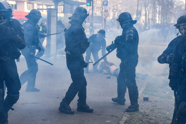 Drones and UV spray: French police to get new high tech weapons against the rioters