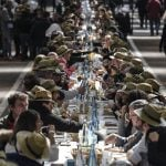 World famous French market serves up record-breaking banquet
