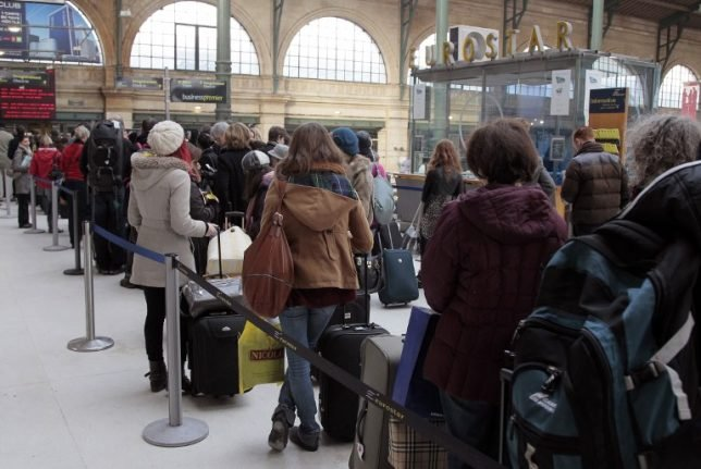 French Brexit protest: Eurostar warns delays set to continue for several days