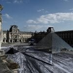 VIDEO: French artist JR's incredible optical illusion reveals Louvre pyramid's 'secret'