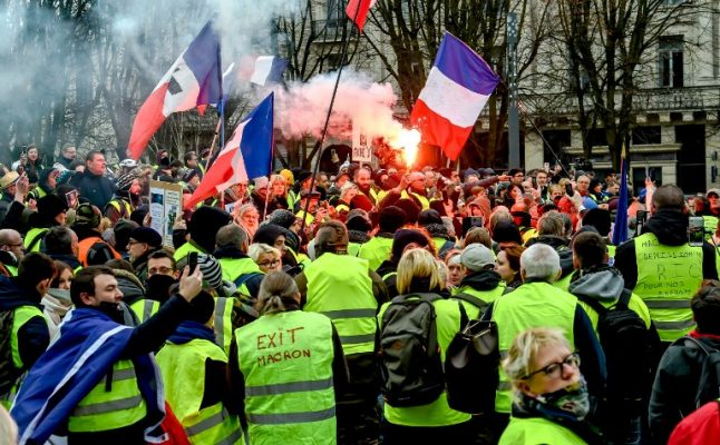 What to expect at this weekend's 'yellow vest' protests across France