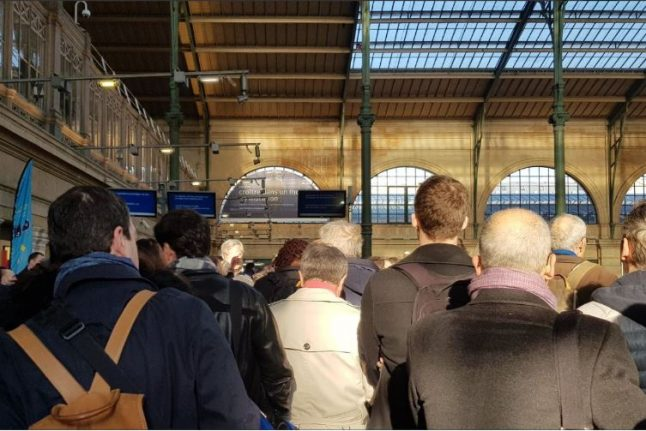 Eurostar UPDATE: Long queues again at Gare to Nord as French customs protest continues