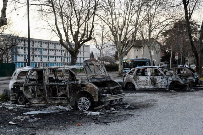 French city of Grenoble hit by three nights of anti-police rioting
